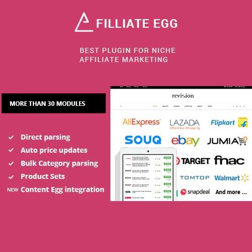 Affiliate Egg Niche Affiliate Marketing WordPress Plugin
