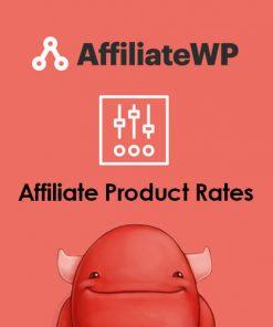 AffiliateWP Affiliate Product Rates