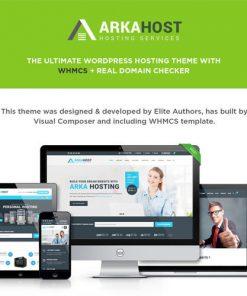 Arka Host WHMCS Hosting Shop Corporate Theme