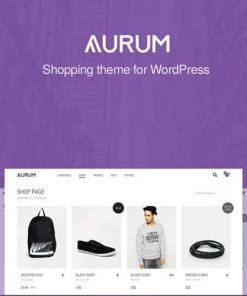 Aurum Minimalist Shopping Theme