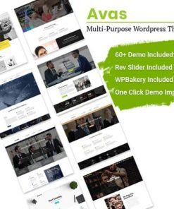 Avas Multi-Purpose WordPress Theme