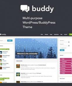 Buddy Simple WordPress BuddyPress Theme