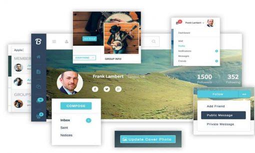 BuddyPress Boss Wordpress Theme