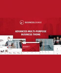 Business Lounge Multi-Purpose Consulting Finance Theme