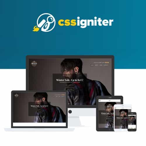 CSS Igniter Hugo Woocommerce Theme