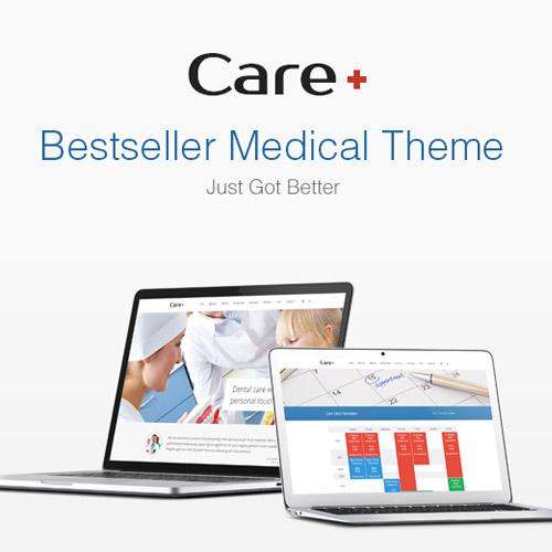 Care Medical and Health Blogging WordPress Theme