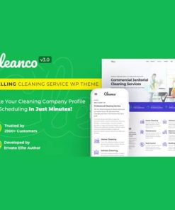 Cleanco Cleaning Service Company WordPress Theme