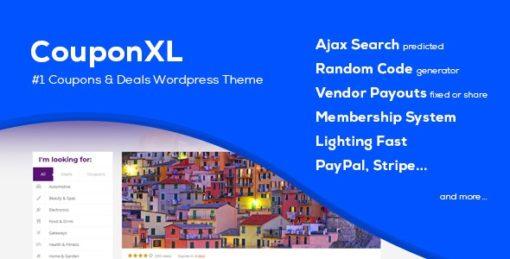 CouponXL Coupons, Deals & Discounts WP Theme