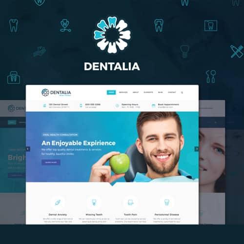 Dentalia Dentist & Medical WordPress Theme