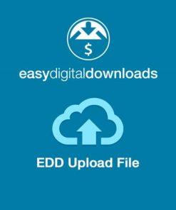 Easy Digital Downloads Upload File