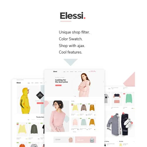 Elessi WooCommerce AJAX WordPress Theme
