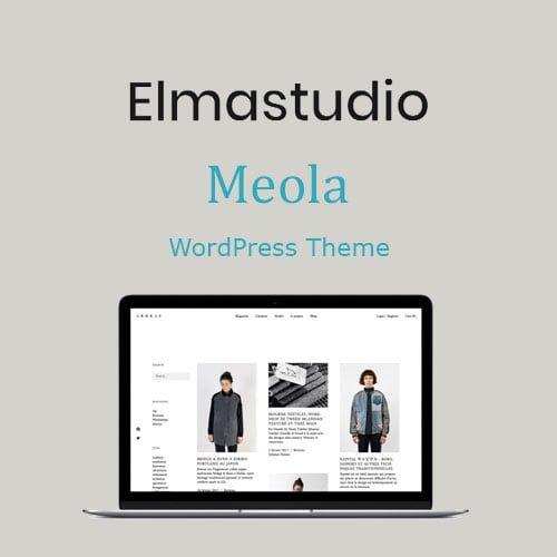 ElmaStudio Meola WordPress Theme