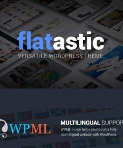 Flatastic Versatile Multi Vendor WordPress Theme