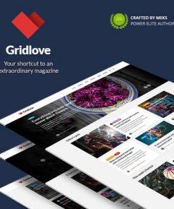 Gridlove Creative Grid Style News Magazine WordPress Theme