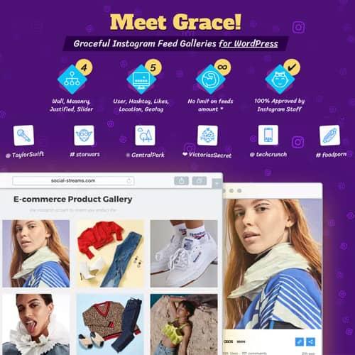Instagram Feed Gallery Grace for WordPress