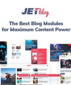 JetBlog Blogging Package for Elementor Page Builder