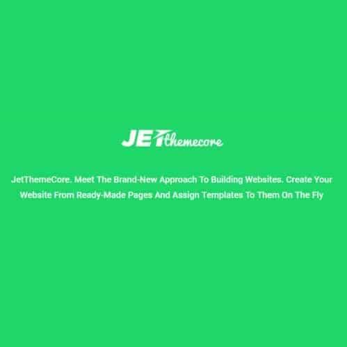 JetThemeCore For Elementor Plugin