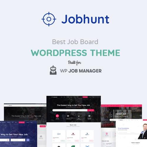 Jobhunt Job Board WordPress theme for WP Job Manager