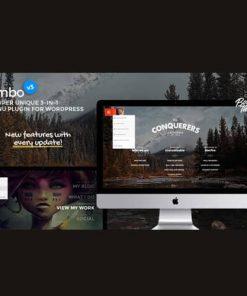 Jumbo A 3-in-1 full-screen menu for WordPress