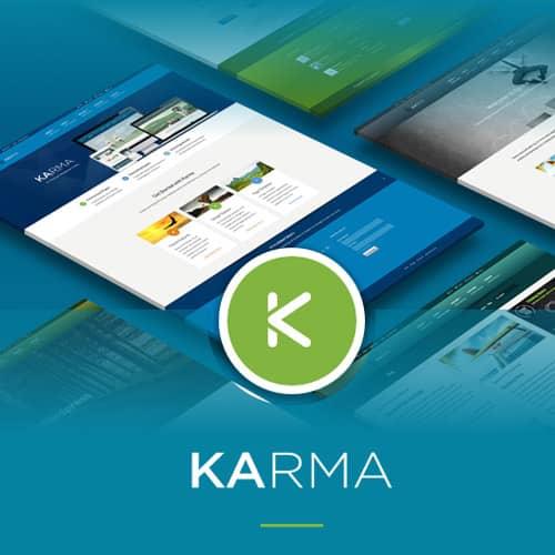 Karma Responsive WordPress Theme