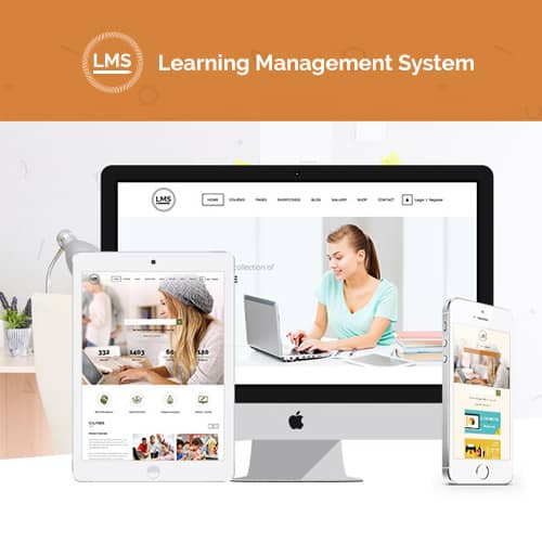 LMS Learning Management System Education LMS WordPress Theme