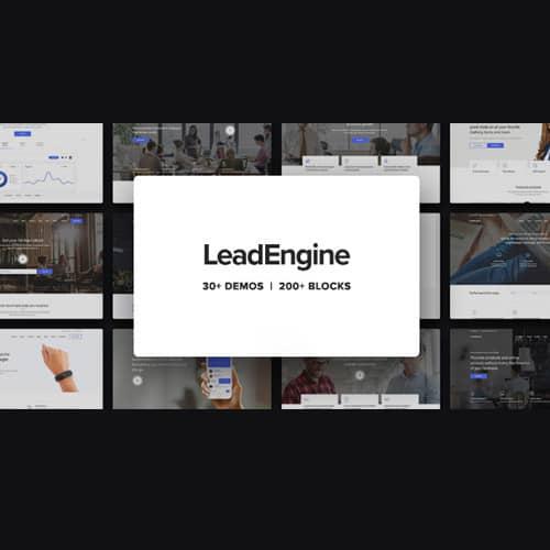 LeadEngine Multi-Purpose WordPress Theme with Page Builder