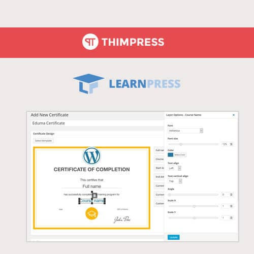 LearnPress Certificates