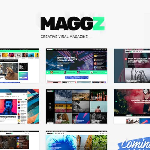 Maggz Viral Magazine Theme