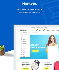 Marketo eCommerce Multivendor Market Woocommerce WordPress Theme