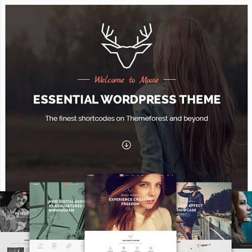 Moose Creative Multi-Purpose Theme