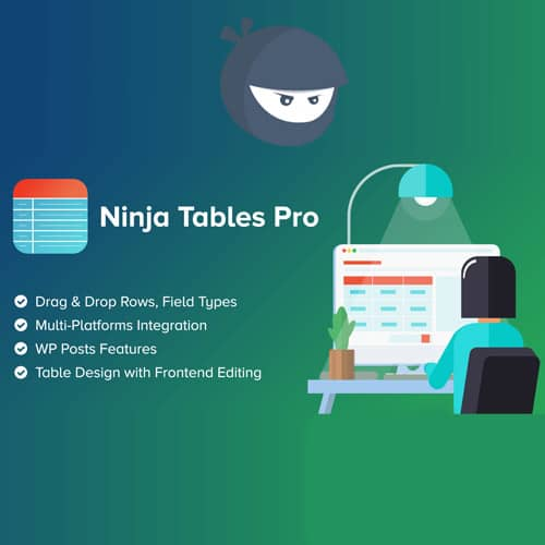 Ninja Tables Pro The Fastest and Most Diverse WP DataTables Plugin