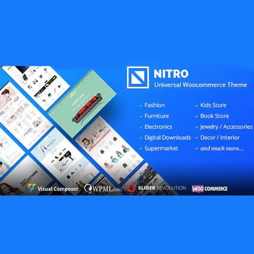 Nitro Universal WooCommerce Theme from ecommerce experts