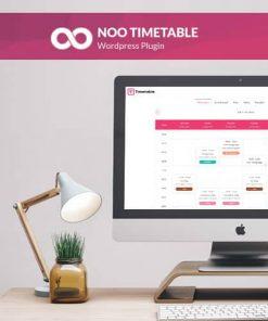 Noo Timetable Responsive Calendar