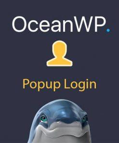 OceanWP Popup Login