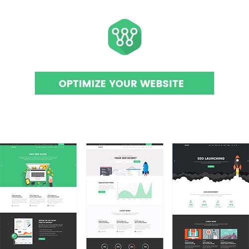 Optimize SEO Digital Marketing Social Media Theme