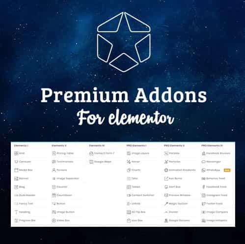 Premium Addons Pro for Elementor