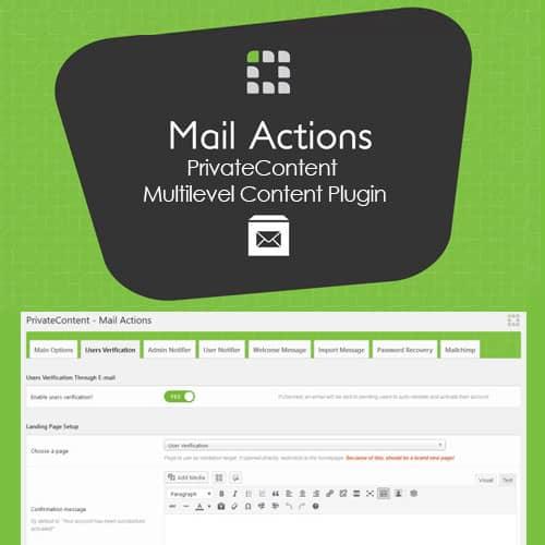 PrivateContent Multilevel Content Plugin