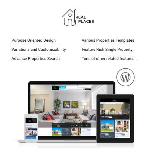 Real Places Responsive WordPress Real Estate Theme