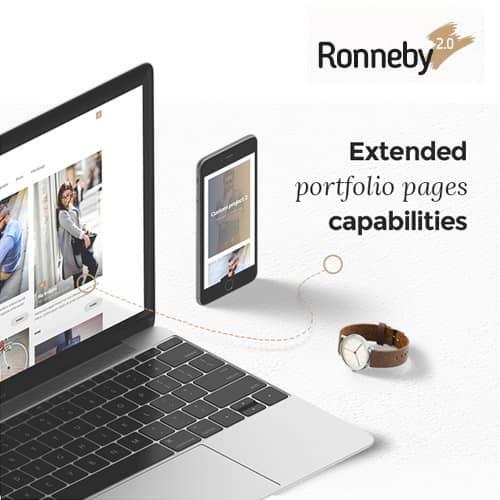 Ronneby High-Performance WordPress Theme