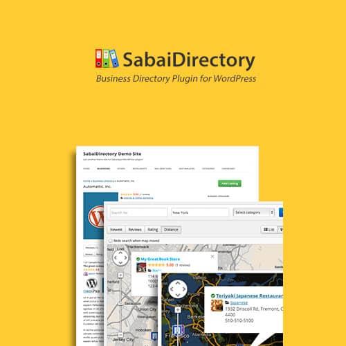 Sabai Directory Plugin for WordPress