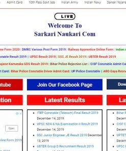 Sarkari Result WordPress Theme Plugins and Template Bundle