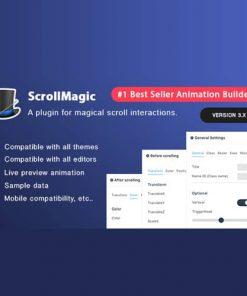 Scroll Magic WordPress Scrolling Animation Builder Plugin