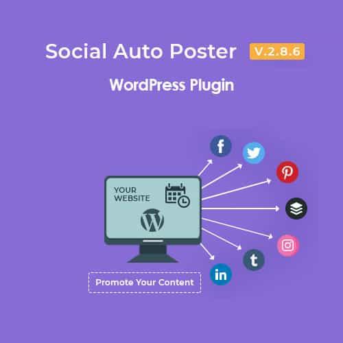 Social Auto Poster Plugin