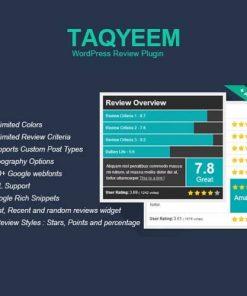 Taqyeem WordPress Review Plugin