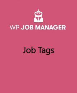WP Job Manager Job Tags Addon