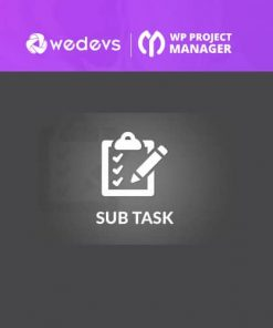 WP Project Manager Sub Task